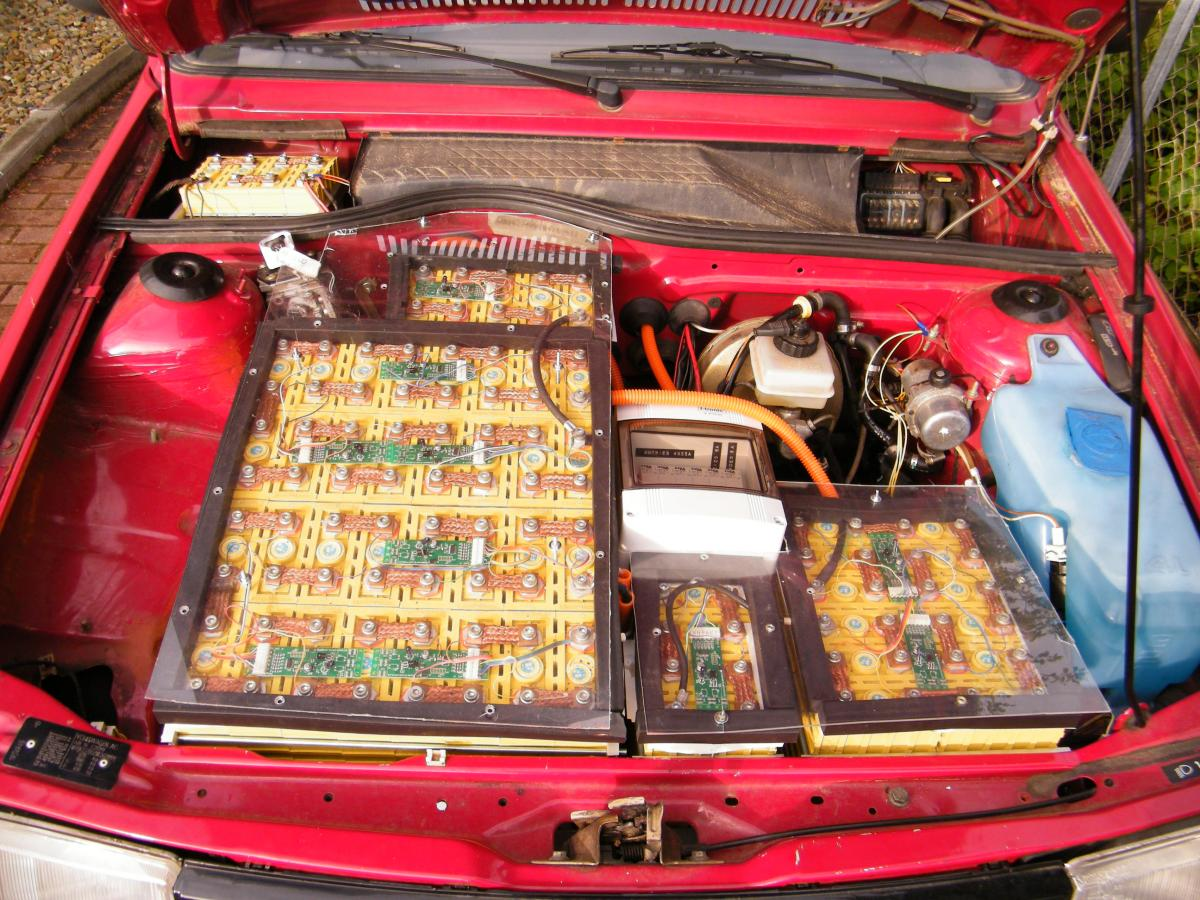 Electric Car Conversion Ingenierb 252 Ro Johannes H 252 Bner